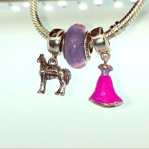 PANDORA Disney Authentic Rapunzel Set, New!